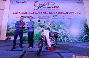 Hình ảnh caravan sinh nhật diễn đàn CaravanVN lần 09 - đấu giá xe Cup 01